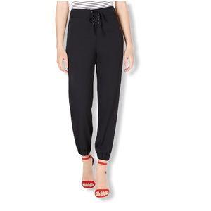 Material Girl Juniors' Black Pants